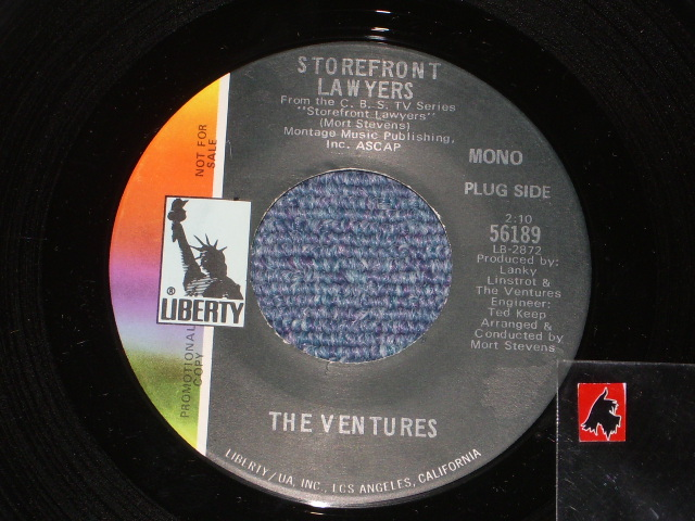 "画像1: 56189 STOREFRONT LAWERS ( THEME ) / KERN COUNTY LINE  Promo Only MONO MIX &  ""NOT FOR SALE"" TEXT on COLOR SIDE"