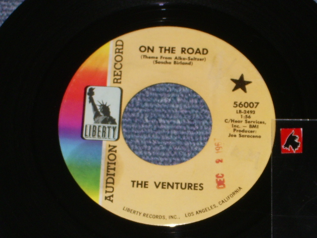 画像1: 56007 ON THE ROAD / MIRRORS AND SHADOWS    Audition Label
