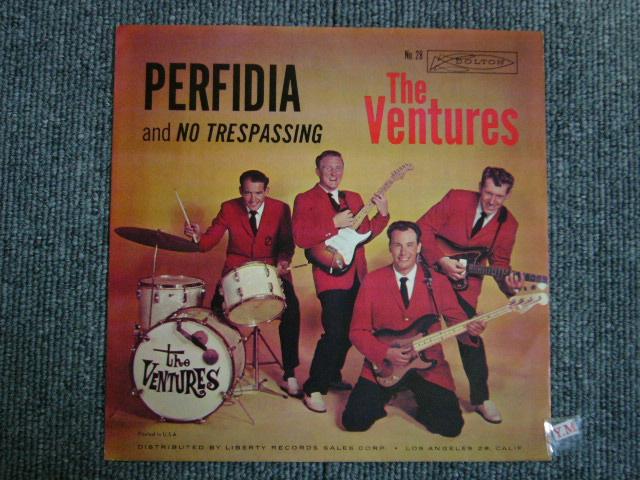 画像1: PERFIDIA / NO TRESPASSING With PICTURE SLEEVE 2nd Press Light Blue Label