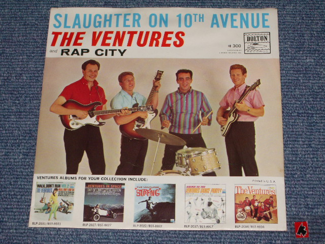 画像1: SLAUGHTER ON TENTH AVENUE / RAP CITY  WITH PICTURE SLEEVE   DARK BLUE With SILVER PRINT LABEL