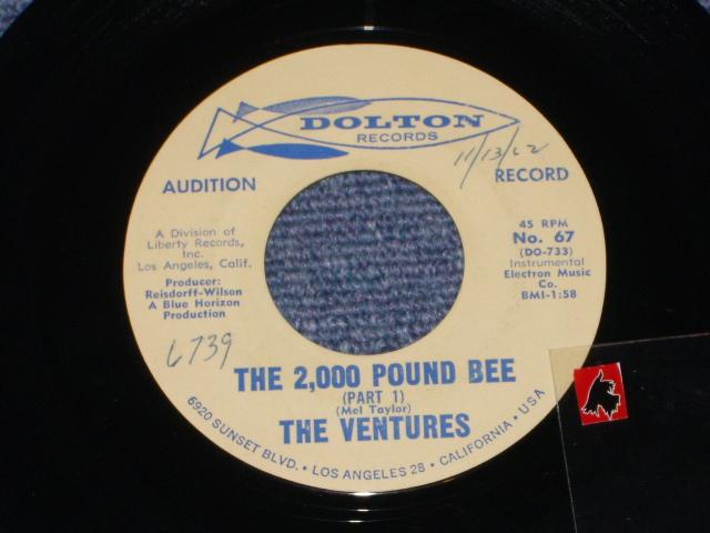 画像1: THE 2,000 POUND BEE Pt.1 / THE 2,000 POUND BEE Pt.2  Audition Label
