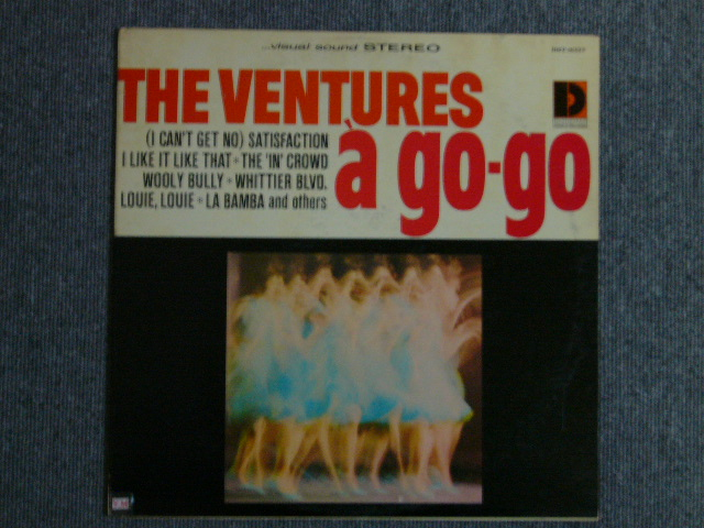 "画像1: VENTURES A GO GO ""D"" Mark Label"