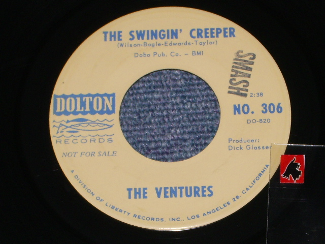 画像1: THE SWINGIN' CREEPER / PEDAL PUSHER   Audition Label