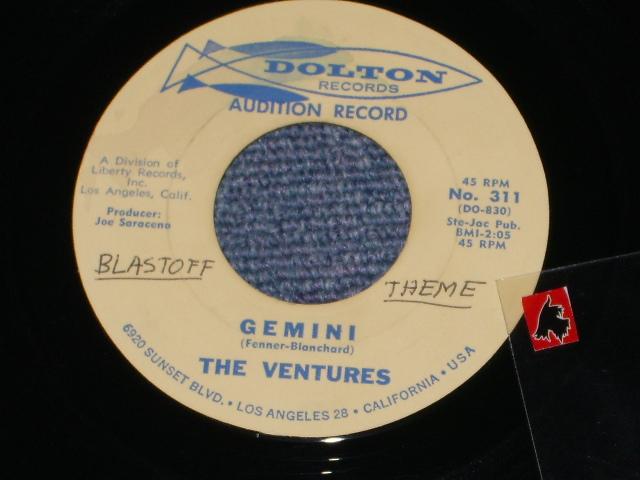 画像1:  LA BAMBA/ GEMINI     Audition Label