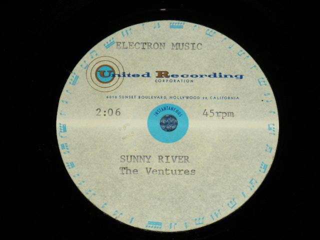 画像1: SUNNY RIVER ( DIFFERENT MIX on ALBUM VERSION )   One Sided ACCETATE TEST PRESS!!! DIFFERENT TITLE LISTING PLACE