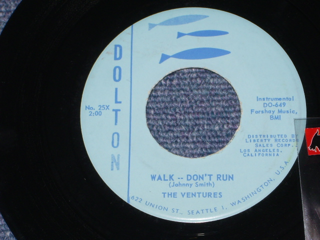 画像1: WALK-DON'T RUN / THE McCOY     LIGHT BLUE LABEL