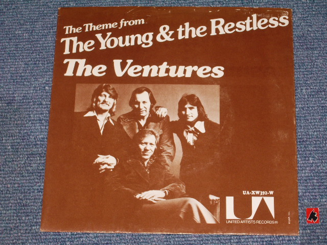 "画像1:  MAIN THEME FROM ""THE YOUNG AND THE RESTLESS""/  ELISE   With PICTURE SLEEVE"