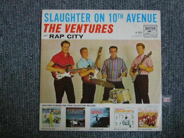 画像1: SLAUGHTER ON TENTH AVENUE / RAP CITY WITH PICTURE SLEEVE DARK BLUE With BLACK PRINT LABEL