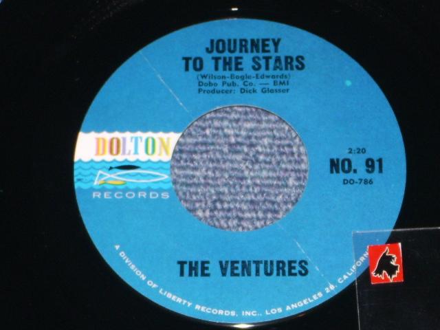 画像1: JOURNEY TO THE STARS / WALKIN' WITH PLUTO   Dark BlueWith Black Print Label