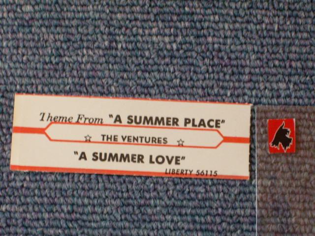 画像1: THEME FROM A SUMMER PLACE / A SUMMER LOVE JUKEBOX STRIPE