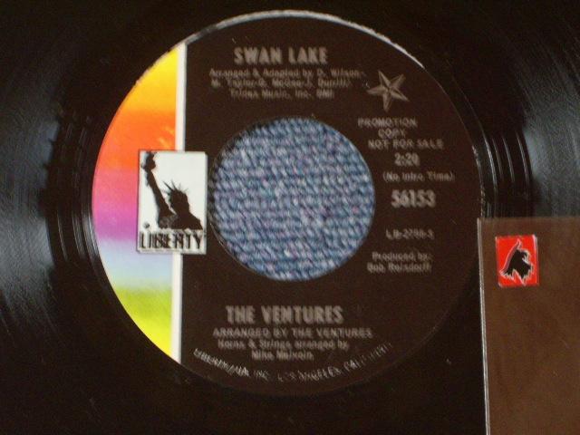画像1: 56153 EXPO SEVEN-0 / SWAN LAKE Promo  Label