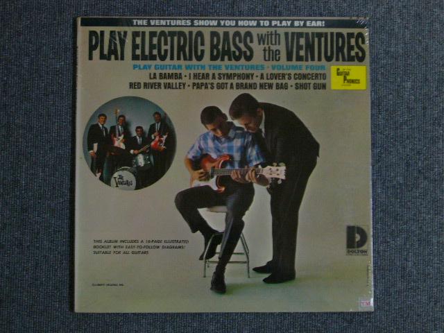 画像1: PLAY ELECTRIC BASS WITH THE VENTURES Volume 4  Sealed