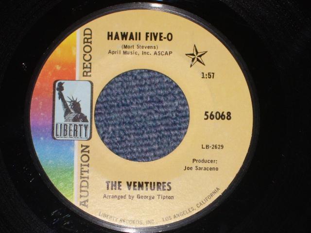 画像1: 56068 HAWAII FIVE-O / SOUL BREEZE  PROMO AUDITION LABEL