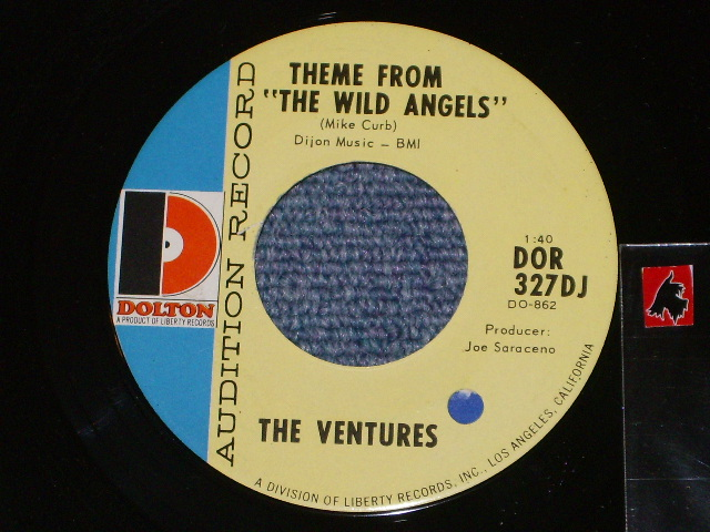 """画像1: THEME FROM """"THE WILD ANGELS"""" / KICKSTAND   Audition Label"""
