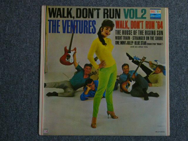 画像1: WALK, DON'T RUN VOL.2 (1st Jacket)Blue With Black Print Label