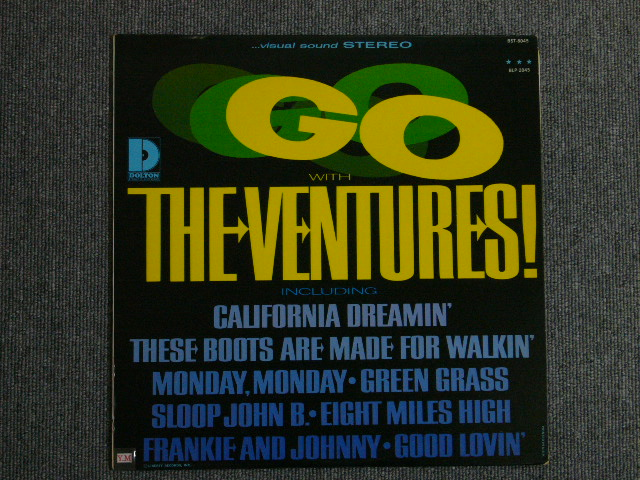 "画像1: GO WITH THE VENTURES ""D"" Mark Label"