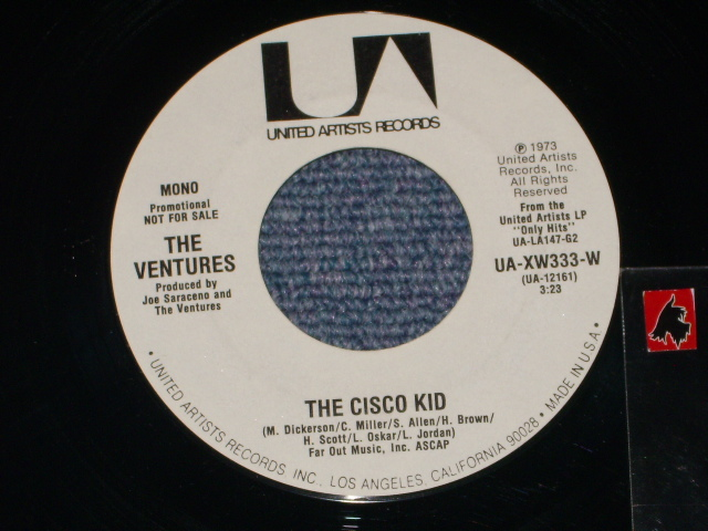 画像1: THE CISCO KID / THE CISCO KID   Promo Only Same Flip WHITE Label Version