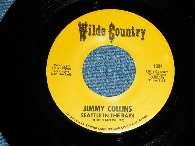 """画像1: JIMMY COLLINS ( Song made by CHRISTIAN WILDE FRIEND of THE VENTURES ) - SEATTLE IN THE RAIN / SEATTLE IN THE RAIN     1969 US ORIGINAL 7""""SINGLE"""