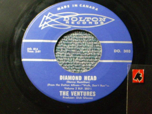 画像1: DIAMOND HEAD / LONELY GIRL   CANDIAN PRESSINGS