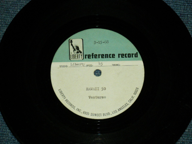 "画像1:  HAWAII FIVE-O ( DIFFERENT MIX ????? as ost TV Sound Track / LEONARD FREEMAN : MORTON STEVENS )        1968 US ORIGINAL One Sided TEST PRESS for RADIO STATION Use??? : ACCETATE 7"" Single"