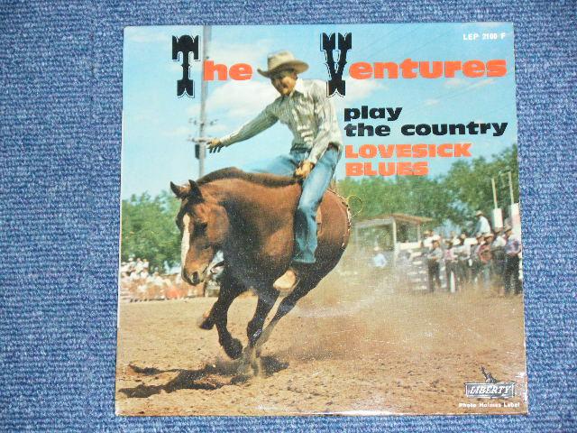 画像1: THE VENTURES - PLAY THE COUNTRY LOVESCK BLUES  FRENCH 60s ORIGINAL PRESSINGS EP With Picture Sleeve
