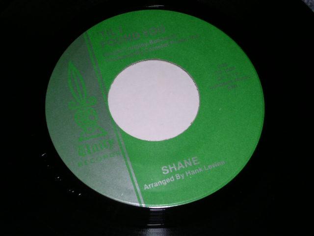 画像1:  SHANE ( BOB BOGLE of THE VENTURES ) -'TIL I FOUND YOU /  ON A NIGHT LIKE THIS 1964?  US ORIGINAL GREEN Label