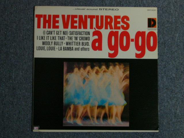 画像1: VENTURES A GO GO Dark Blue With/Silver Print Label