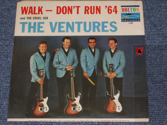 画像1:  WALK, DON'T RUN '64 / THE CRUEL SEA   With Picture Sleeve and  White Label Promo