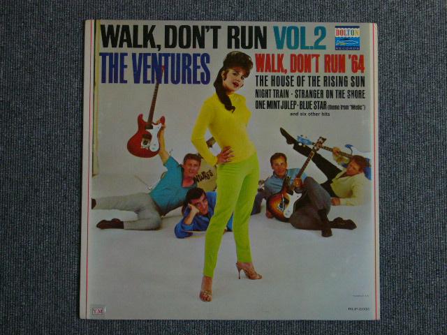 画像1: WALK, DON'T RUN VOL.2 (2nd Jacket)Dark Blue With/Silver Print Label