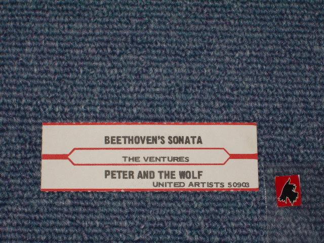画像1:  BEETHOVEN'S SONATA IN G MINOR / PETER AND THE WOLF  JukeBox Stripe