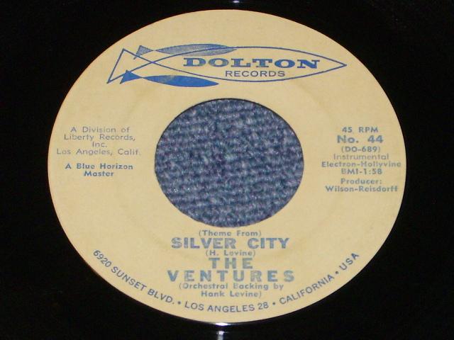 画像1: SILVER CITY / BLUER THAN BLUE   Promo Audition Label