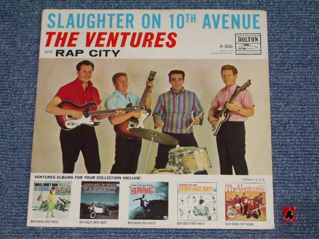 画像1: SLAUGHTER ON TENTH AVENUE / RAP CITY  WITH PICTURE SLEEVE   DARK BLUE With SILVER PRINT LABEL