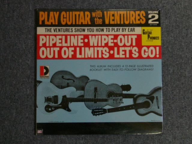 画像1: PLAY GUITAR WITH THE VENTURES Volume 2  Sealed