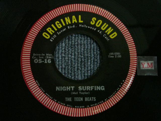 画像1: THE TEEN BEATS(COMPOSER by MEL TAYLOR of The VENTURES ) -NIGHT SURFING / CLAIR DE LUNE ROCK