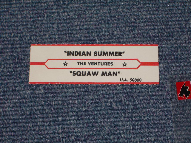 画像1: INDIAN SUN / SQUUAW MAN JUKEBOX STRIPE