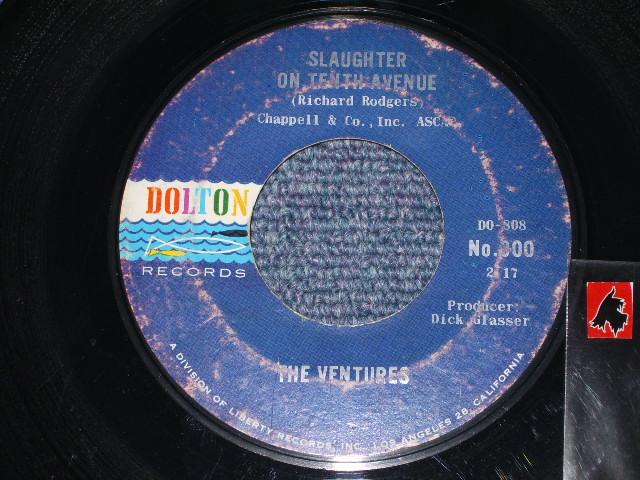 画像1: SLAUGHTER ON TENTH AVENUE / RAP CITY    DARK BLUE With SILVER PRINT LABEL