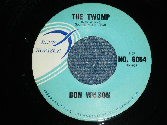 画像1: DON WILSON - THE TWOMP / HEART ON MY SLEEVE   1961 US ORIGINAL 7 Single