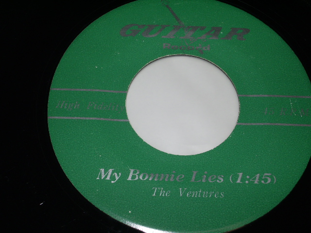 "画像1: A) MY BONNIE LIES / B) TWISTED /19?? US ORIGINAL?? Instruction???7"" SINGLE"