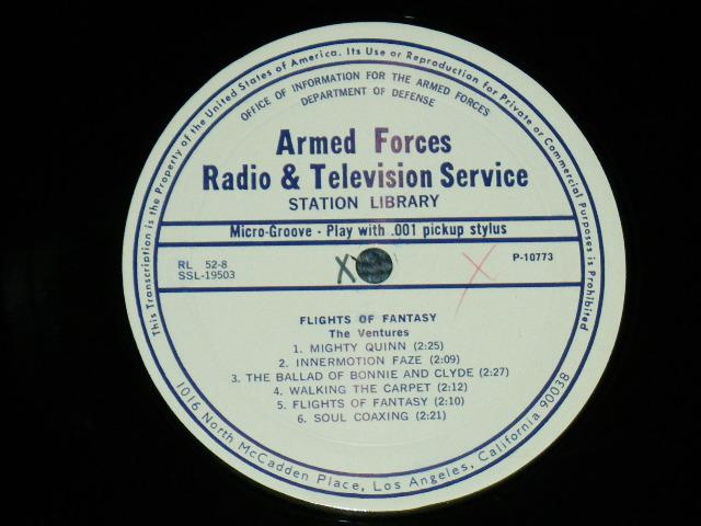 画像1: THE VENTURES SIDE :  FLIGHTS OF FANTASY   US ARMED  FORCE RADIO SHOW