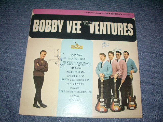 画像1: BOBBY VEE MEETS THE VENTURES( With BOBBY & NOKIE & MEL'S AUTOGRAPHED SIGNED )