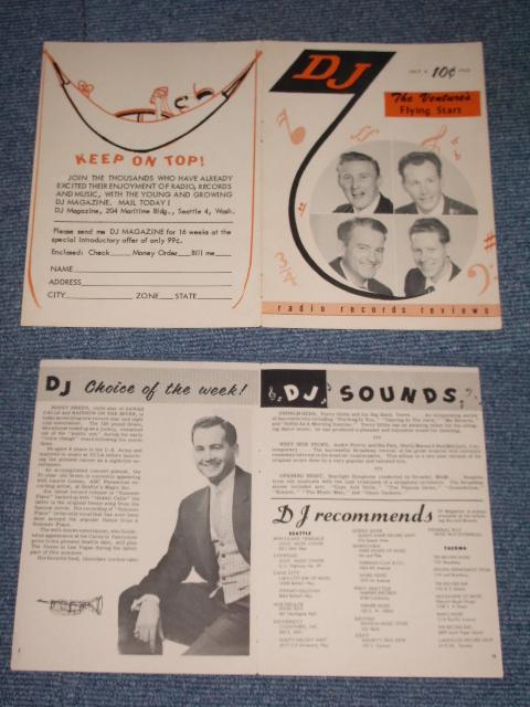 画像1: THE VENTURES - THE VENTURES FLYING START / 1960 US ORIGINAL PROMO BOOK FLYER