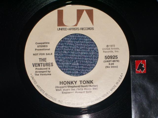 画像1: HONKY TONK ( Full Version ) / HONKY TONK ( Part 2 )  Promo Only Coupling