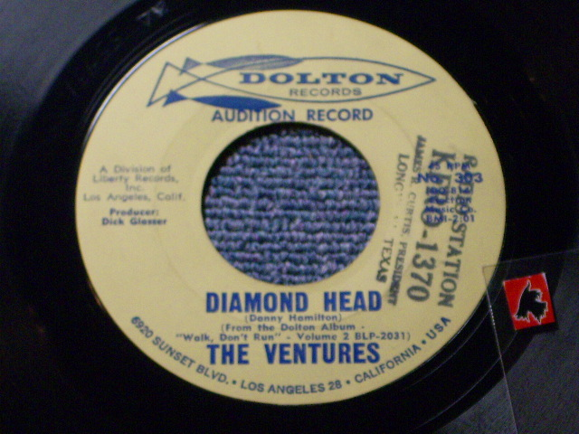 画像1: DIAMOND HEAD / LONELY GIRL   Audition Label