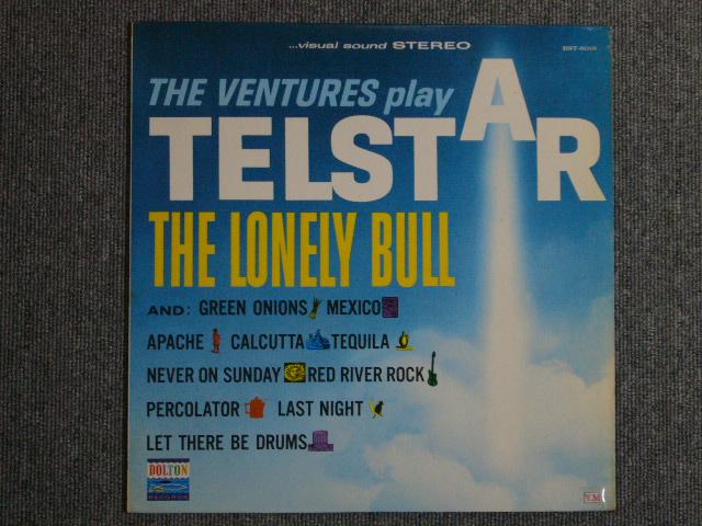 画像1: THE VENTURES PLAY TELSTAR ・THE LONELY BULL 70s Liberty Label