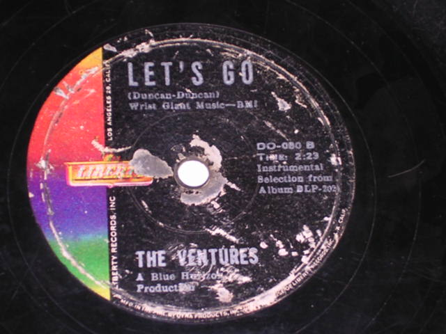 画像1: WALK RIGHT IN / LET'S GO     - PHILLIPPINESORIGINAL 78rpm SP