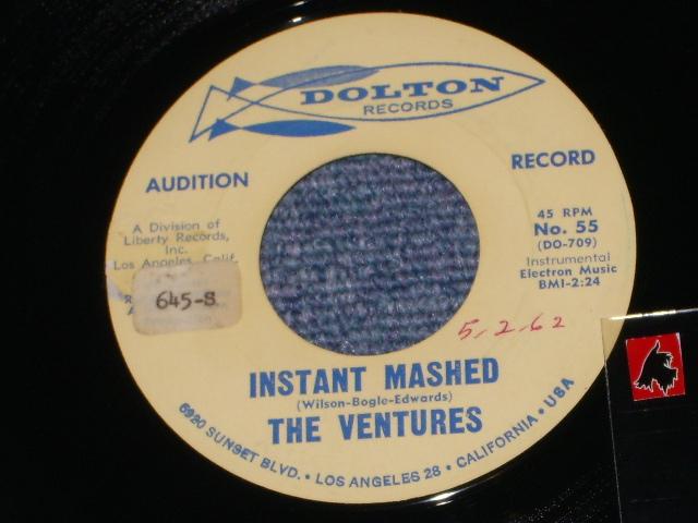 画像1:  INSTANT MASHED / MY BONNIE LIES   Audition Label
