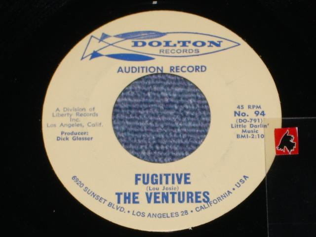 画像1: No.94   FUGITIVE / SCRATCHIN'    Audition  Label