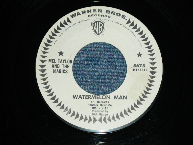 画像1: MEL TAYLOR - WATERMELON MAN / SKOKIAAN   US ORIGINAL WHITE LABEKL PROMO