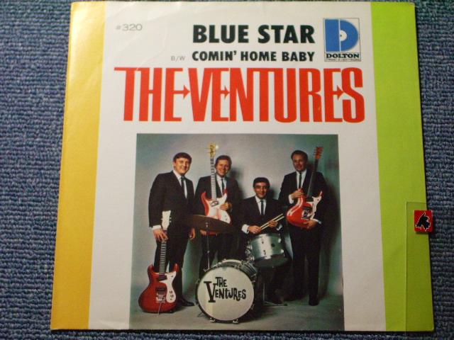 画像1: BLUE STAR / COMIN' HOME BABY   With Picture Sleeve and Dark Blue With Silver Print Label