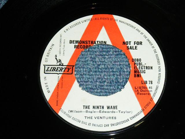 画像1: THE NINTH WAVE / DAMAGED GOODS  UK PROMO  Label